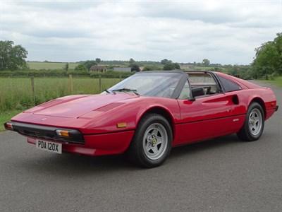 Lot 30 - 1982 Ferrari 308 GTSi