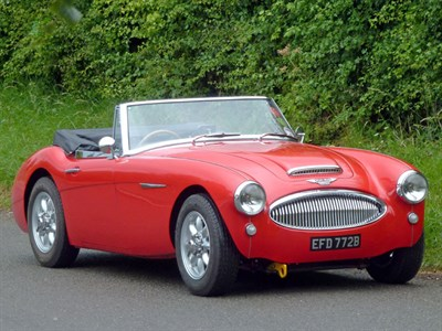 Lot 32-1964 Austin-Healey 3000 MKIII