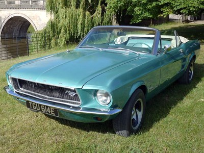Lot 37-1967 Ford Mustang Convertible