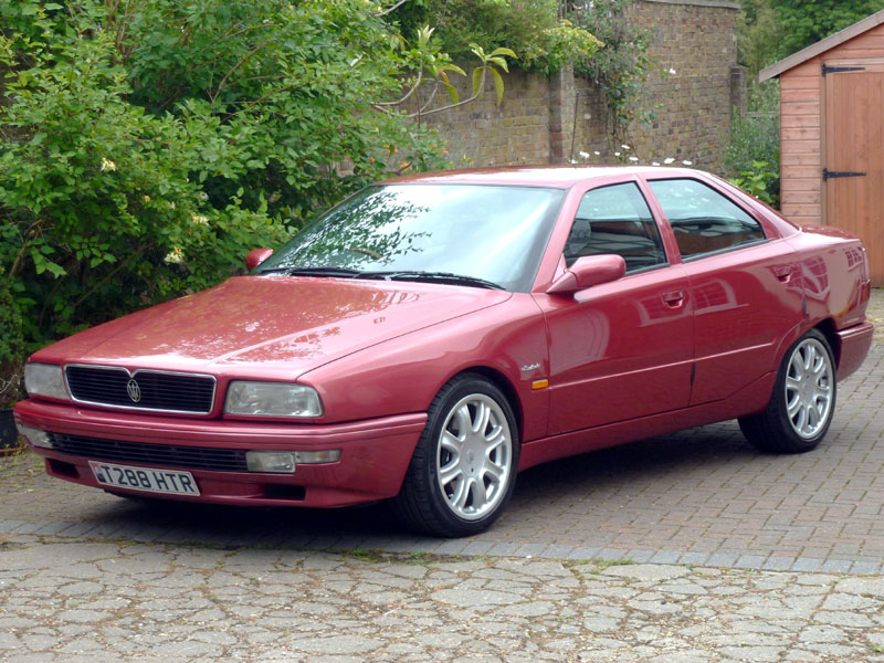 Lot 76-1999 Maserati Quattroporte IV V8