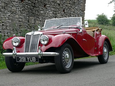 Lot 20-1955 MG TF 1500