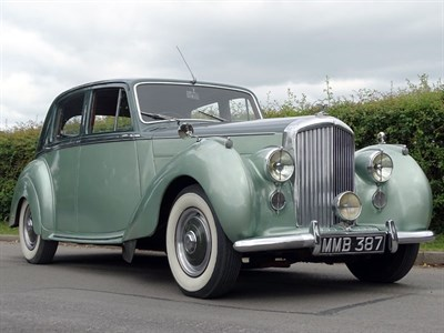 Lot 75-1950 Bentley MK VI Saloon