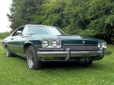 Lot 38-1973 Buick LeSabre Custom Coupe