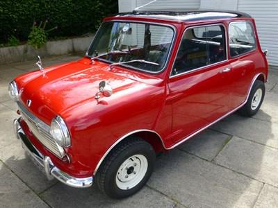 Lot 102-1969 Austin Mini Cooper MKII