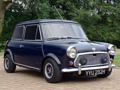Lot 83-1970 Morris Mini Cooper S MKII Wood & Pickett Margrave