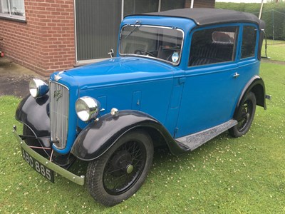 Lot 1-1936 Austin Seven Pearl Cabriolet