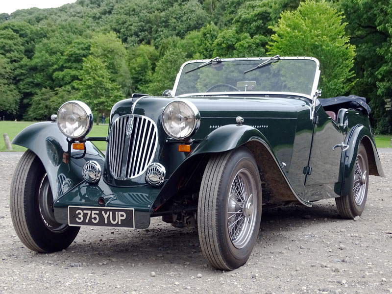 Lot 19-1951 HRG 1500 Four-Seater Tourer