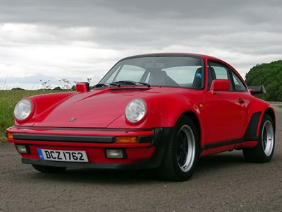 Lot 82-1988 Porsche 911 Turbo