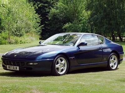 Lot 63 - 1995 Ferrari 456 GT