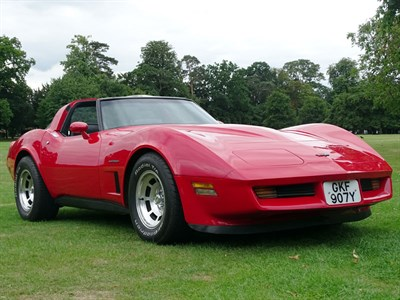 Lot 44-1982 Chevrolet Corvette