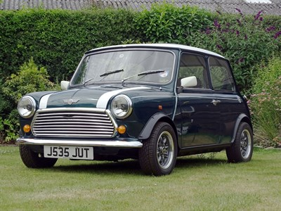 Lot 59-1991 Rover Mini Cooper