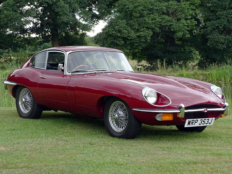 Lot 90-1970 Jaguar E-Type 4.2 Coupe