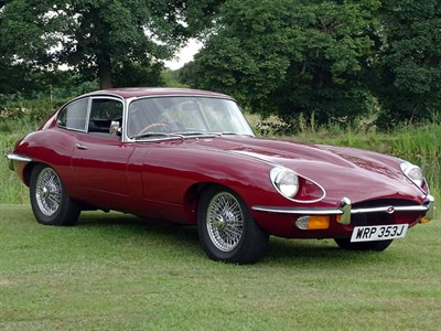 Lot 90-1970 Jaguar E-Type 4.2 Coupe