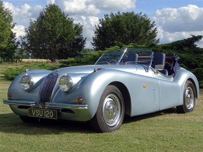 Lot 16-2014 Nostalgia XK120 Evocation