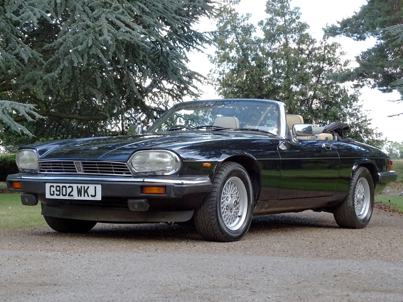 Lot 25-1990 Jaguar XJ-S 5.3 Convertible