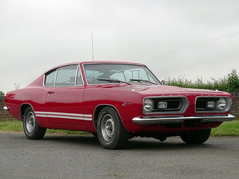 Lot 93-1967 Plymouth Barracuda Fastback