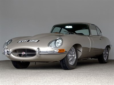 Lot 103-1964 Jaguar E-Type Coupe
