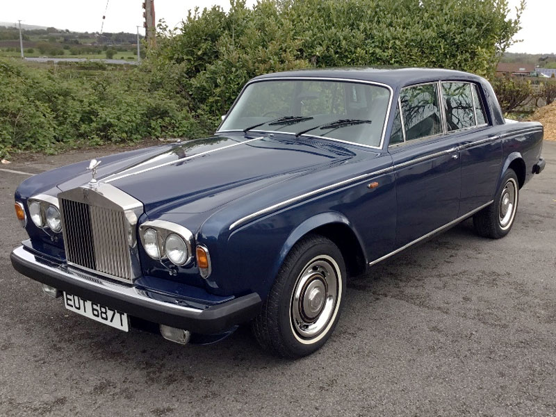 Lot 4-1979 Rolls-Royce Silver Shadow II