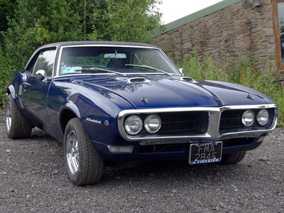 Lot 92-1967 Pontiac Firebird