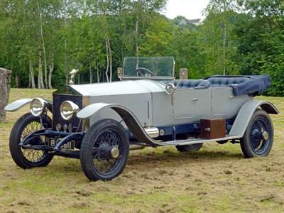 Lot 100-1923 Rolls-Royce Silver Ghost 40/50 Tourer