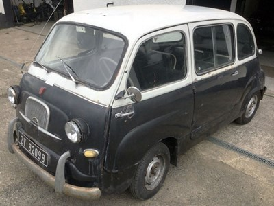 Lot 6-1958 Fiat 600 Multipla