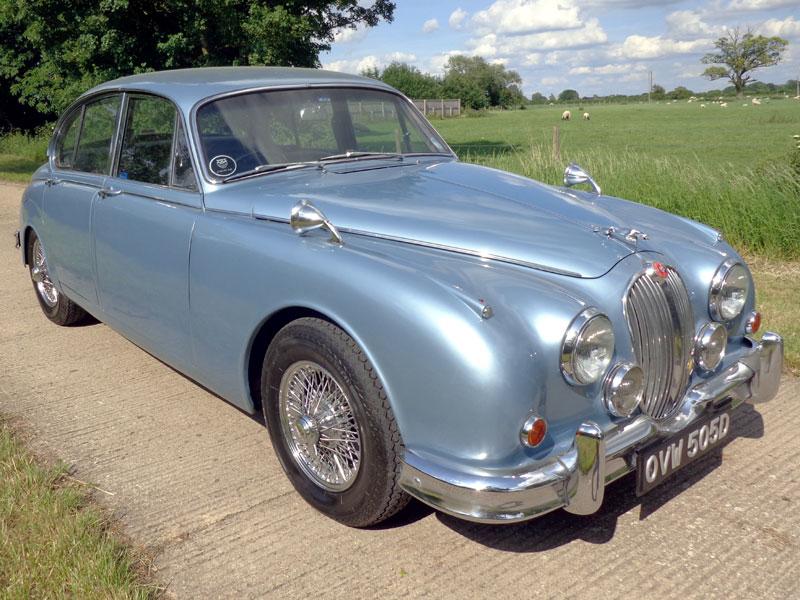 Lot 70-1966 Jaguar MK II 3.4 Litre