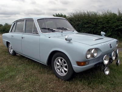 Lot 5-1969 Triumph 2000 Saloon