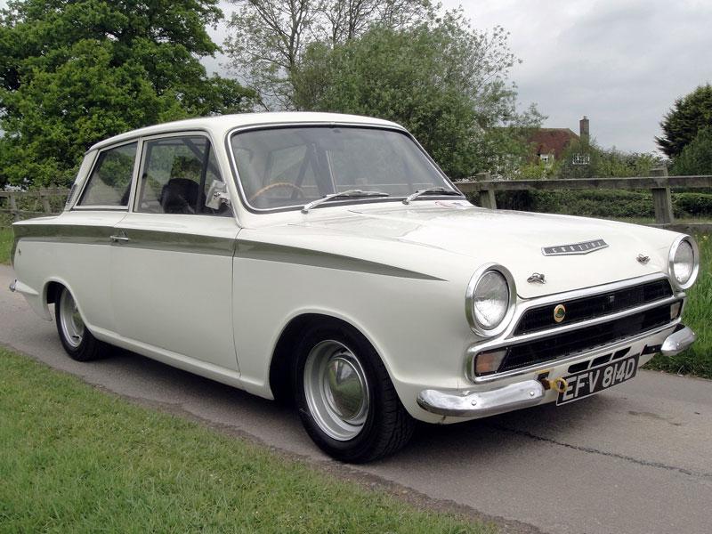 Lot 72-1965 Ford Lotus Cortina