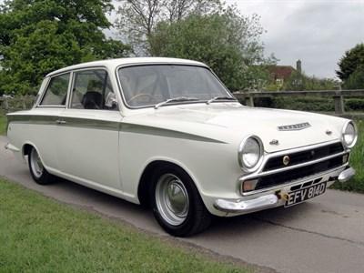 Lot 72 - 1965 Ford Lotus Cortina
