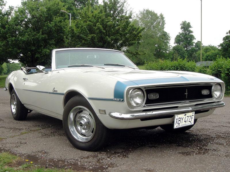 Lot 18-1968 Chevrolet Camaro 327 Convertible