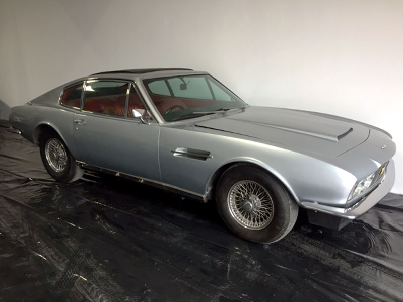 Lot 54-1972 Aston Martin DBS