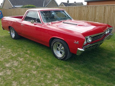 Lot 88-1967 Chevrolet El Camino