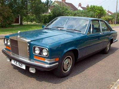 Lot 104-1975 Rolls-Royce Camargue