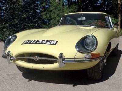 Lot 105-1964 Jaguar E-Type 3.8 Coupe