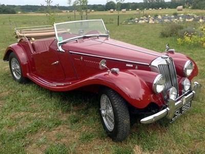Lot 106-1954 MG TF 1500