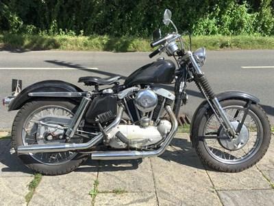 Lot 31 - 1963 Harley Davidson Sportster XLH