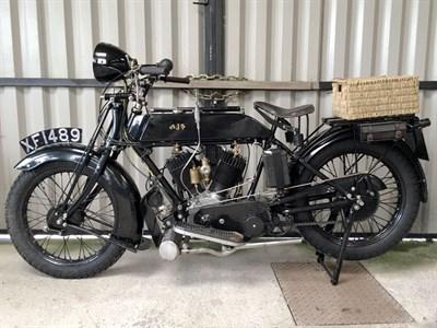 Lot 90 - 1921 AJS Model D
