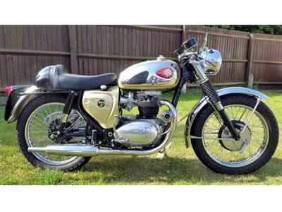 Lot 33-1965 BSA A65 Lightning Clubman Replica