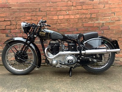 Lot 44 - 1936 Rudge Sports Special