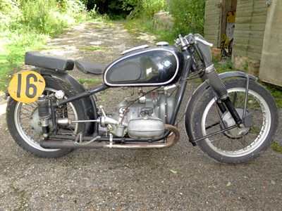 Lot 54 - 1939 BMW R51 Racing