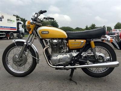 Lot 9 - 1971 Yamaha XS1B