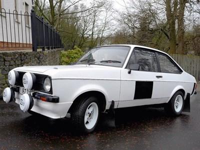 Lot 25-1981 Ford Escort 1600 Sport