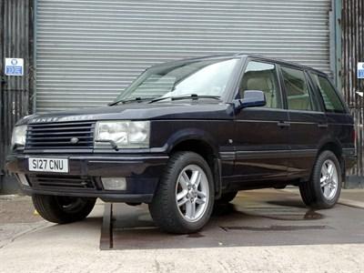 Lot 29-1998 Range Rover 4.0 SE