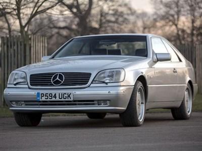 Lot 13-1997 Mercedes-Benz CL 500