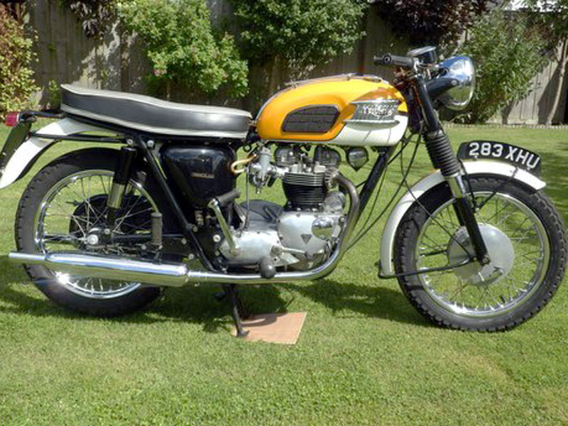 Lot 24-1964 Triumph T120 Bonneville