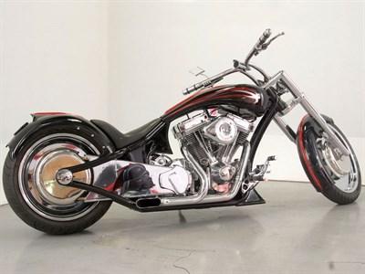 Lot 37 - 2005 Harley Davidson Custom 'Darth Vader'