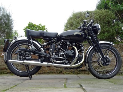 Lot 78 - 1951 Vincent Black Shadow Series C