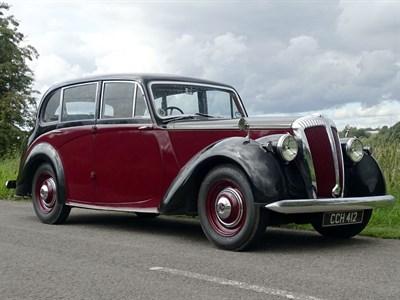 Lot 21-1950 Daimler DB18 Consort
