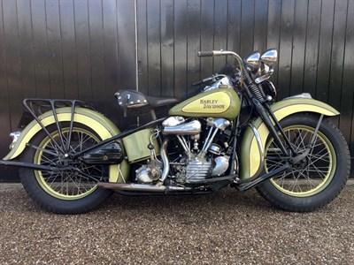 Lot 36 - 1942 Harley Davidson EL 1000