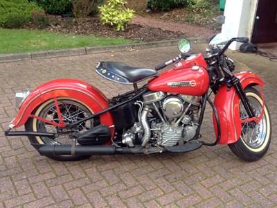 Lot 41 - 1948 Harley Davidson EL 1000